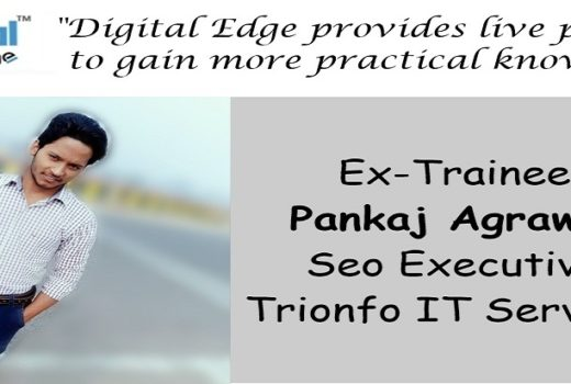 """Placement credit goes t Digital Edge Institute""- Pankaj Agarwal"